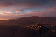 Sunset over Upper Eskdale