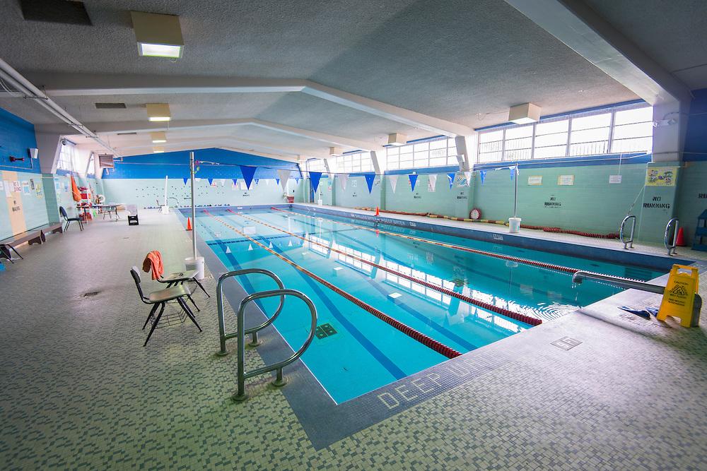 Pool at Attucks Middle School, May 14, 2014.