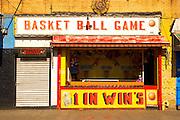 Coney Island New York Basketball Game storefront