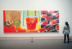 House of Fire by James Rosenquist at the Metropolitan Museum of Art in Manhattan , New York City, USA