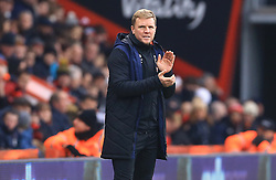 Bournemouth manager Eddie Howe looks on during the Emirates FA Cup, third round match at the Vitality Stadium, Bournemouth.