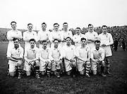 Neg No:.401/5669-5673...14021954IPFCSF1...14.02.1954.Interprovincial Railway Cup Football - Semi-Final...Leinster.3-14.Ulster.3-6..Ulster Team