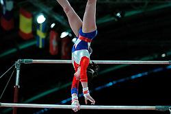 28-04-2004 TURNEN: EUROPEES KAMPIOENSCHAP DAMES: AMSTERDAM<br /> Laura van Leeuwen plaatst zich niet voor de Olympische Spelen - OS Athene<br /> ©2004-www.fotohoogendoorn.nl