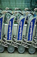 Luggage carts at Portland, OR air[port