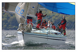 The third days racing at the Bell Lawrie Yachting Series in Tarbert Loch Fyne, Perfect conditions finally arrived for competitors on the three race courses...CYCA 6 Guilty 1427C.