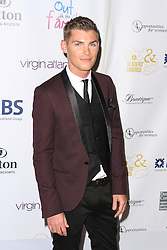 © Licensed to London News Pictures. 25/04/2014, UK. Kieron Richardson. The Out In The City & g3 Readers Awards, The Landmark Hotel, London UK, 25 April 2014. Photo credit : Brett D. Cove/Piqtured/LNP