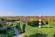 Sculpture by Franz West, Andy Warhol's former home. 406 Old Montauk Hwy, Montauk,  New York
