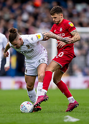 Kalvin Phillips of Leeds United and Jamie Paterson of Bristol City - Mandatory by-line: Daniel Chesterton/JMP - 15/02/2020 - FOOTBALL - Elland Road - Leeds, England - Leeds United v Bristol City - Sky Bet Championship