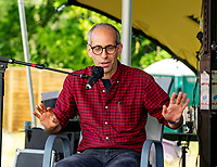 Dr Arik Kershenbaum  at the Also Festival 2021 at Cpmton Verney,photo by Mark Anton Smith<br /> .