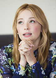 September 25, 2016 - New York, New York, USA - Haley Bennett stars in The Magnificent Seven and The Girl on the Train and soon to be released the year Rules Don't Apply (Credit Image: © Armando Gallo/Arga Images via ZUMA Studio)