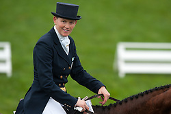 Donckers Karin (BEL) - Lady Brown<br /> FEI World Championship for Young Horses Le Lion d'Angers 2012<br /> © Hippo Foto - Jon Stroud