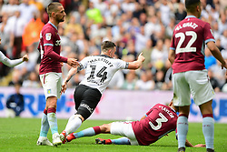 May 27, 2019 - London, England, United Kingdom - Jack Marriott (14) of Derby County celebrates after scoring a goal to make it 2-1 during the Sky Bet Championship match between Aston Villa and Derby County at Wembley Stadium, London on Monday 27th May 2019. (Credit: Jon Hobley | MI News) (Credit Image: © Mi News/NurPhoto via ZUMA Press)