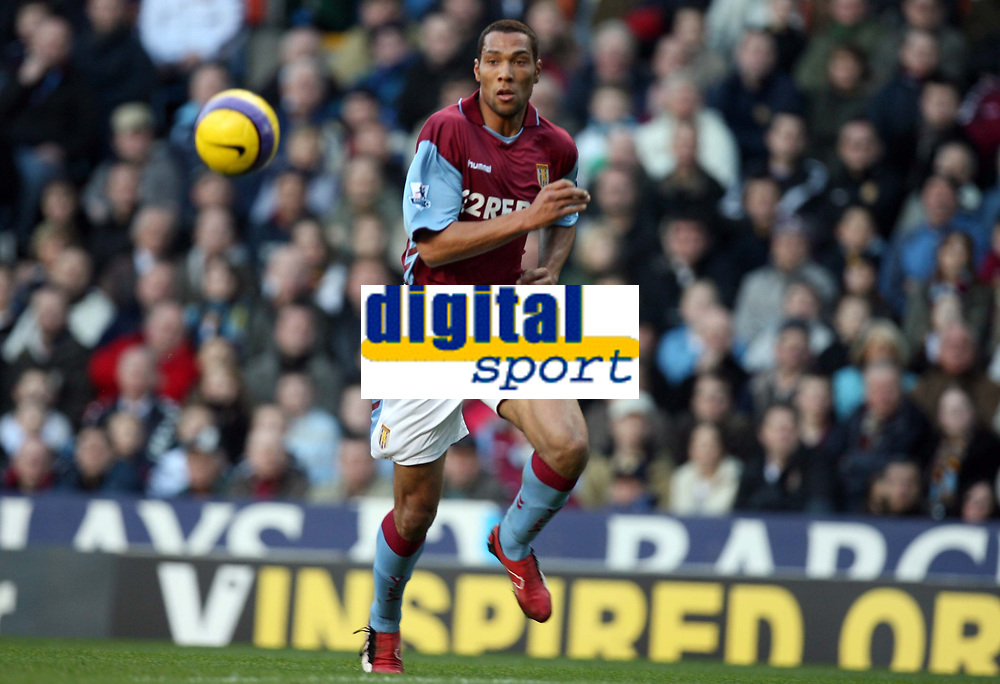 Photo: Rich Eaton.<br /> <br /> Aston Villa v West Ham. The Barclays Premiership. 03/02/2007. John Carew of Aston Villa who scored the only goal of the game on his debut