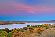Hills along the South Saskatchewan River <br /> Saskatchewan Landing Provincial Park<br /> Saskatchewan<br /> Canada