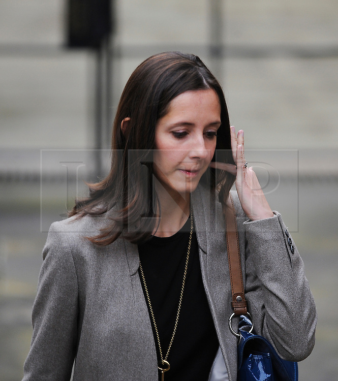 © London News Pictures. FILE PICTURE DATED  21/11/2011. London, UK.  Leveson Inquiry Lawyer, Carine Patry Hoskins who is reported to be in a relationship with David Sherborne, counsel for victims of phone hacking. Pictured arriving at the Royal Courts of Justice for the Leveson Inquiry on 21/11/2011. Photo credit : Ben Cawthra/LNP