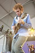 June 16, 2006; Manchester, TN.  2006 Bonnaroo Music Festival..Nickel Creek peforms at Bonnaroo 2006.  Photo by Bryan Rinnert