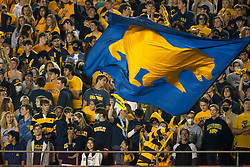 California fans cheer on their team against Nevada during the third quarter of an NCAA college football game, Saturday, Sept. 4, 2021, in Berkeley, Calif. (AP Photo/D. Ross Cameron)