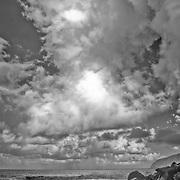 Siu Point from Tufu Point, Ta'u Island, American Samoa.