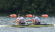 Caversham, Nr Reading, Berkshire.<br /> <br /> GBR M2-, Left, Matt TARRANT and Nathaniel REILLY-O'DONNELL. Olympic Rowing Team Announcement morning training before the Press conference at the RRM. Henley.<br /> <br /> Thursday  09.06.2016<br /> <br /> [Mandatory Credit: Peter SPURRIER/Intersport Images] 09.06.2016,
