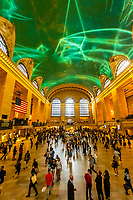 Interior view of Grand Central Station, New York City, New York USA.