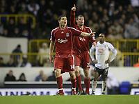 Photo: Marc Atkins.<br /> Tottenham Hotspur v Liverpool. The Barclays Premiership. 30/12/2006.