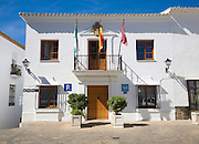 Town hall in village of Zahara de la Sierra, Cadiz province, Spain