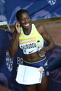 Christine Ohuruogu of Great Britain after the 400m during the Sainsbury's Anniversary Games at the Queen Elizabeth II Olympic Park, London, United Kingdom on 24 July 2015. Photo by Ellie Hoad.
