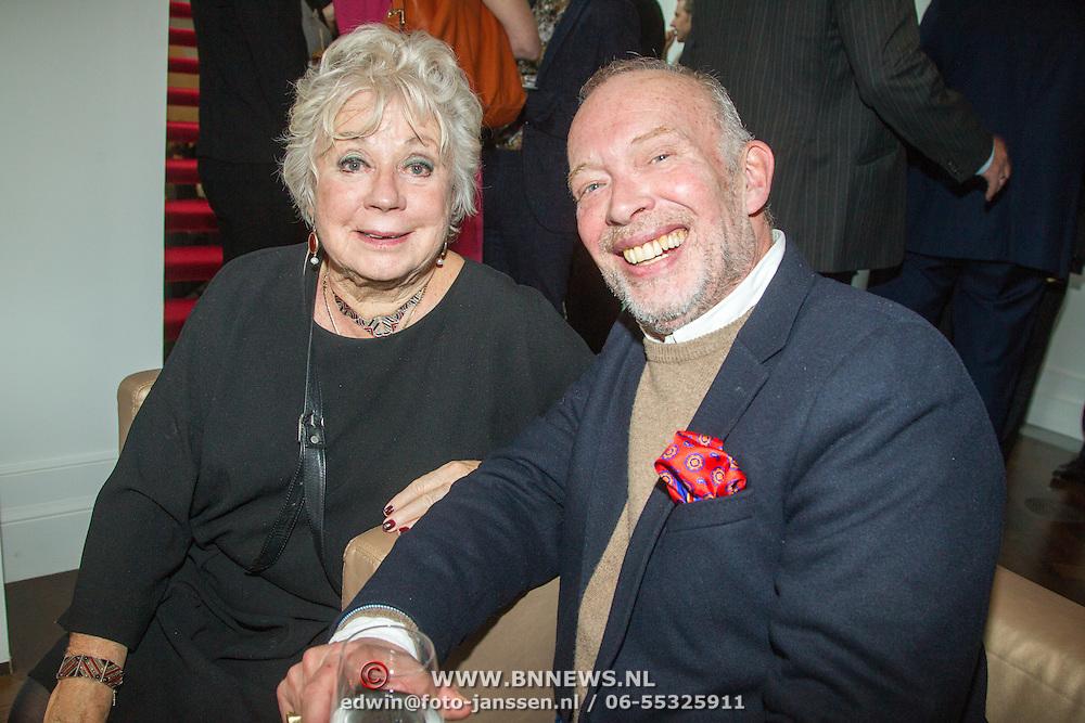 NLD/Amsterdam/20151123 - 5 jaar Delamar theater en 10 Jaar Van den Ende Foundation viering, Frans Mulder en ...............