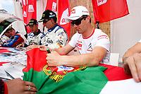 20100527: LOULE, ALGARVE, PORTUGAL - Portugal WRC Rally 2010 - Drivers signing autographs. In picture: Sebastien Loeb (FRA) - Citroen Total WRT. PHOTO: CITYFILES