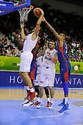 DESCRIZIONE : Lubiana Ljubliana Slovenia Eurobasket Men 2013 Preliminary Round Belgio Francia Belgium France<br /> GIOCATORE : Alexis Ajinca<br /> CATEGORIA : stoppata block<br /> SQUADRA : Francia France<br /> EVENTO : Eurobasket Men 2013<br /> GARA : Belgio Francia Belgium France<br /> DATA : 09/09/2013 <br /> SPORT : Pallacanestro <br /> AUTORE : Agenzia Ciamillo-Castoria/H.Bellenger<br /> Galleria : Eurobasket Men 2013<br /> Fotonotizia : Lubiana Ljubliana Slovenia Eurobasket Men 2013 Preliminary Round Belgio Francia Belgium France<br /> Predefinita :