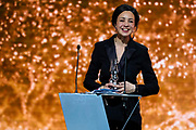 Brussels , 01/02/2020 : Les Magritte du Cinema . The Academie Andre Delvaux and the RTBF, producer and TV channel , present the 10th Ceremony of the Magritte Awards at the Square in Brussels . <br /> Pix :  Myriem Akheddiou<br /> Credit : Daina Le Lardic / Isopix