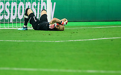 Loris Karius of Liverpool reacts after Gareth Bale of Real Madrid scored third goal for Real during the UEFA Champions League final football match between Liverpool and Real Madrid at the Olympic Stadium in Kiev, Ukraine on May 26, 2018.Photo by Sandi Fiser / Sportida