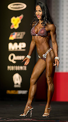 Sept.16, 2016 - Las Vegas, Nevada, U.S. -  MYLIEN NGUYEN competes in the Bikini Olympia contest during Joe Weider's Olympia Fitness and Performance Weekend.(Credit Image: © Brian Cahn via ZUMA Wire)