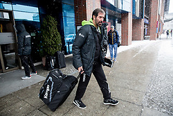 Veselin Vujovic, head coach of Slovenia at departure of Team Slovenia on Day 7 of Men's EHF EURO 2016, on January 21, 2016 in Mercure Hotel Wroclaw, Poland. Photo by Vid Ponikvar / Sportida