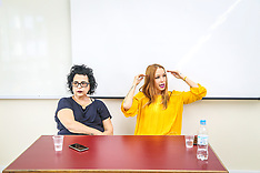 Carol Teixeira e Cintia Moscovich