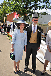 Left & centre, the EARL & COUNTESS OF ST.ANDREWS at day 1 of the 2011 Royal Ascot Racing festival at Ascot Racecourse, Ascot, Berkshire on 14th June 2011.