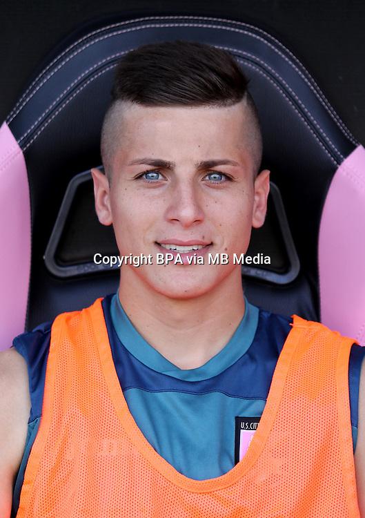 Italian League Serie A -2015-2016 / <br /> ( Us Citta Di Palermo ) - <br /> Matheus Cassini