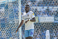 Coventry City Forward, Bright Enobakhare (24) during the EFL Sky Bet League 1 match between Portsmouth and Coventry City at Fratton Park, Portsmouth, England on 22 April 2019.