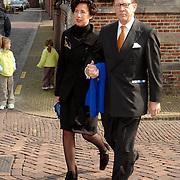 NLD/Naarden/20070406 - Mattheus Passion 2007, Commisaris van de Koninging Harry Borghouts en partner