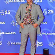Karim Zeroual attends BBC1's National Lottery Awards 2019 at BBC Television Centre, 101 Wood Lane, on 15 October 2019, London, UK.
