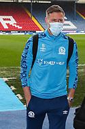 Blackburn Rovers defender Barry Douglas (15) arrives for  the EFL Sky Bet Championship match between Blackburn Rovers and Birmingham City at Ewood Park, Blackburn, England on 8 May 2021.