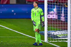 SEVILLE, SPAIN - Tuesday, November 17, 2020: goalkeeper Manuel Neuer of Germany disappointed during the UEFA Nations League match between Spain and Germany at Estadio La Cartuja de Sevilla. (Photo by Pablo Morano/Orange Pictures via Propaganda)