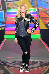 Heidi Montag enters the Celebrity Big Brother house at Elstree Studios in Borehamwood, Herfordshire, during the latest series of the Channel 5 reality TV programme.