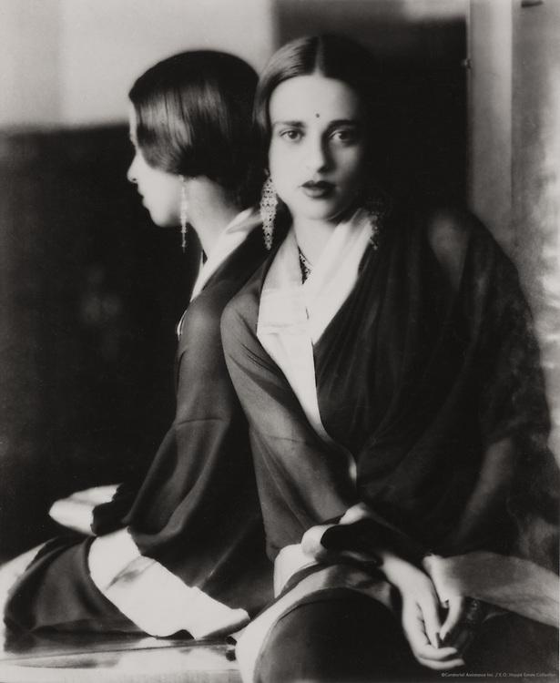 Amrita Shergil, Artist from Santiniketan, India, 1929