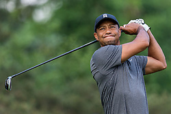 May 29, 2019, Dublin, Ohio, U.S.: TIGER WOODS plays his shot from the third tee during the Pro-Am of the Memorial Tournament presented by Nationwide at Muirfield Village Golf Club in Dublin, Ohio. (Credit Image: © Adam Lacy/Icon SMI via ZUMA Press)