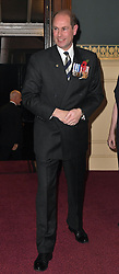 The Earl of Wessex arrives at the annual Royal Festival of Remembrance at the Royal Albert Hall in London.