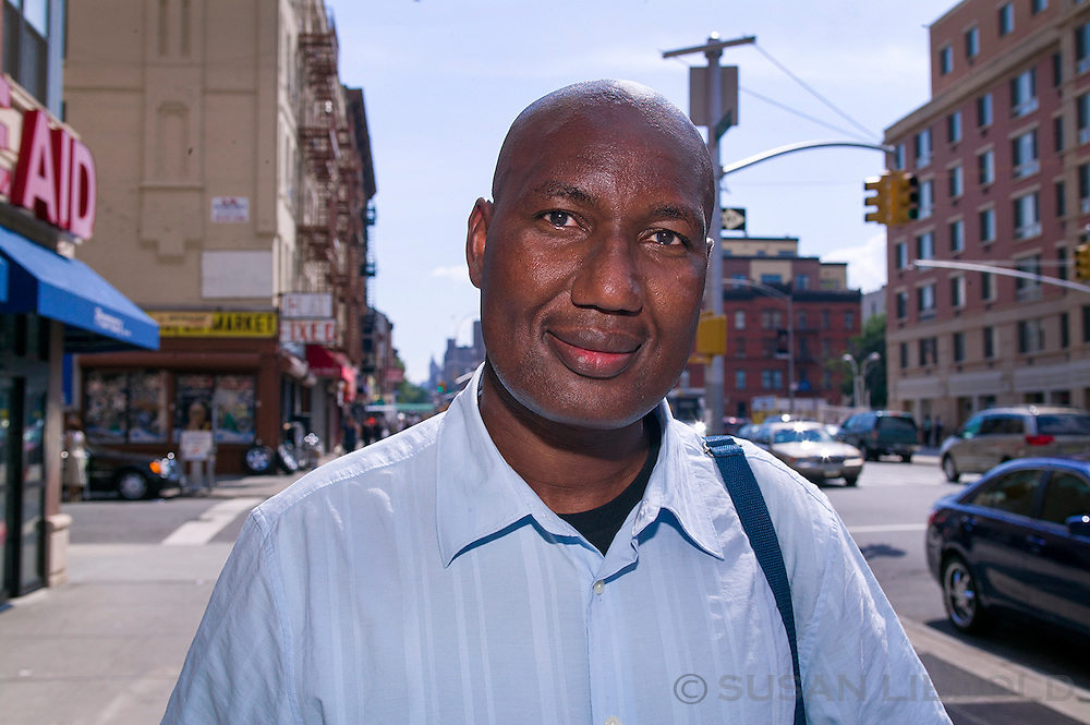 Tandia, originally from Mauritania, is a human rights advocate and works to promote the rights of African immigrants in New York.
