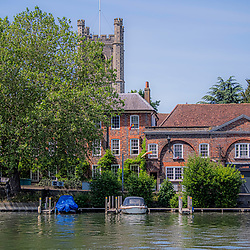 Henley on Thames river side May 2020