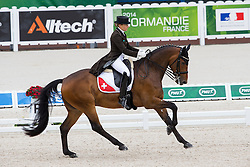 Marcela Krinke Susmelj, (SUI), Smeyers Molberg - Grand Prix Team Competition Dressage - Alltech FEI World Equestrian Games™ 2014 - Normandy, France.<br /> © Hippo Foto Team - Leanjo de Koster<br /> 25/06/14