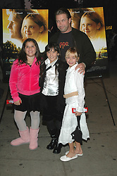 October 17, 2005 - New York, NY, U.S. - 17 October 2005 - New York, New York -  Stephen Baldwin and his daughter Hailey (right) arrive with friends at the special Fathers and Daughters screening of the new film, ''Dreamer'' at the Chelsea West Theater in Manhattan.   .Photo Credit: Patti Ouderkirk/AdMedia (Credit Image: © Patti Ouderkirk/AdMedia via ZUMA Wire)